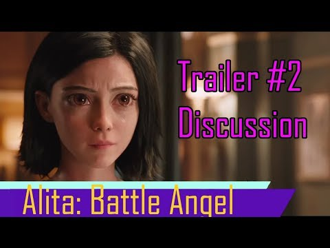 Alita Battle Angel: My Thoughts on Trailer #2