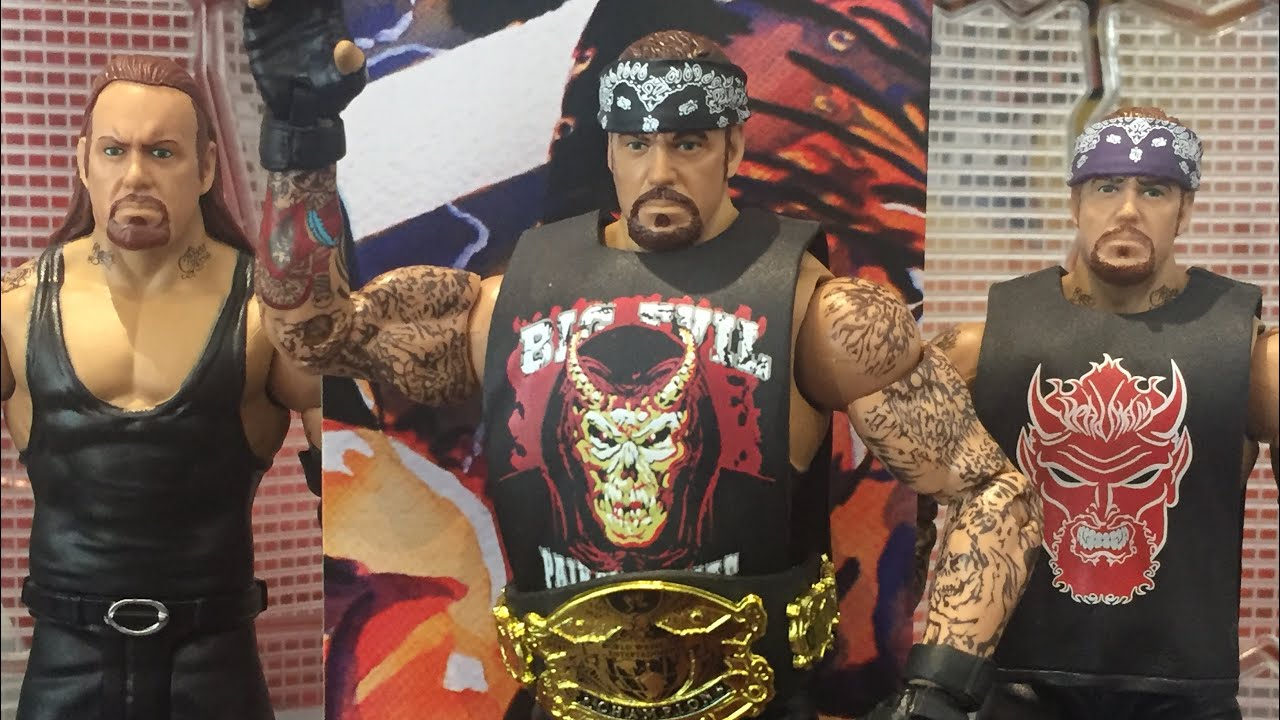 Undertaker WWE Elite 55 Mattel Toy Wrestling Action Figure
