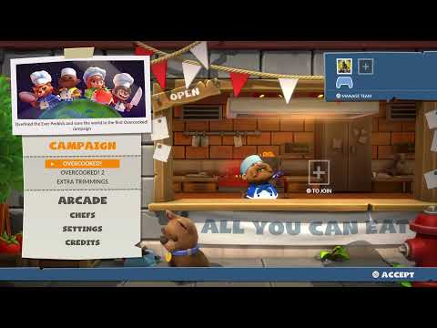 Overcooked All you can eat |