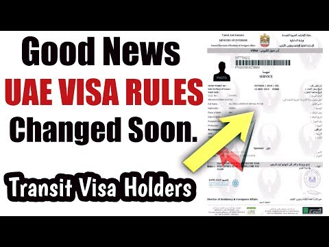 Important | UAE VISA Rules Changed Soon | Dubai Transit Visa | April 2018