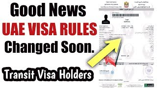 Important | UAE VISA Rules Changed Soon | Dubai Transit Visa | April 2018