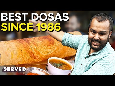 AMAZING South Indian Food ft. Healthy Kadai | BEST Masala Dosa EVER | Served #28