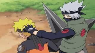 Naruto- 10 Minutes of Shuriken/Kunai Moves