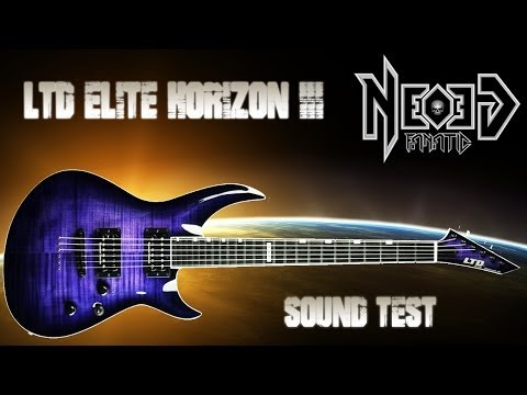 LTD Elite Horizon III sound test - Neogeofanatic