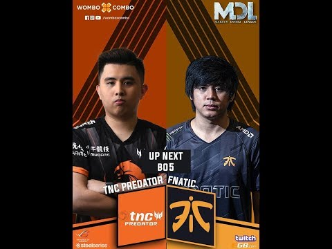 TNC Predator vs Fnatic Game 1 (BO5) l MDL Changsha Major Southeast Asia Qualifiers | Grand Finals