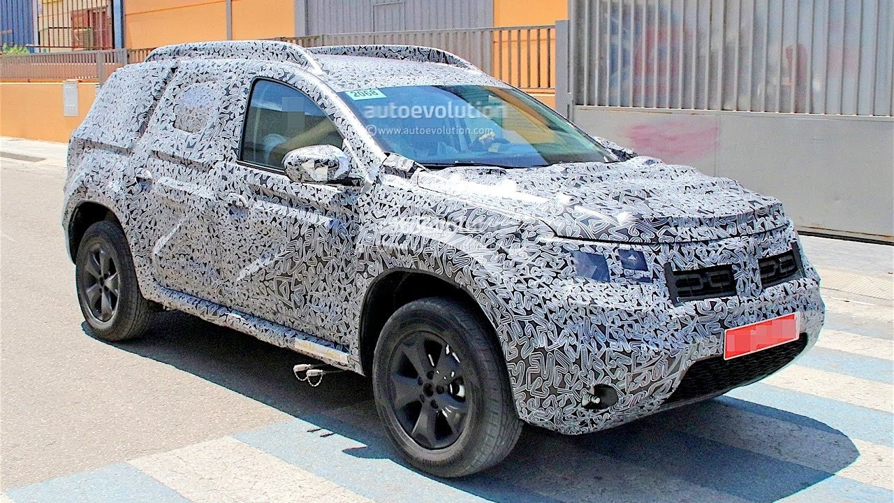 New dacia duster 2018 2019 first photos 2 generation for Interieur nouveau duster 2018
