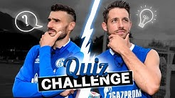 Quiz Challenge | Daniel Caligiuri vs. Mark Uth | FC Schalke 04