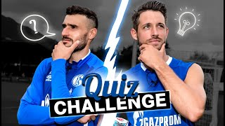 Quiz-Challenge | Daniel Caligiuri vs. Mark Uth | FC Schalke 04