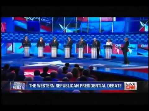 Repubs Debate foreign aid to Israel - Oct. 18th