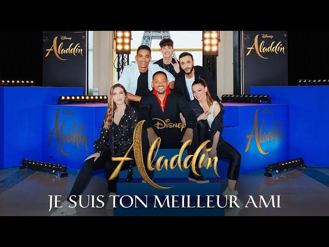 ALADDIN - JE SUIS TON MEILLEUR AMI ( SARA'H COVER ) GUEST WILL SMITH