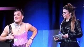 Gastoz kao zena u emisiji Audicija