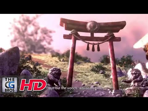 "CGI 3D Animated Short HD: ""The Wolf and the Dog"" - by ESMA"