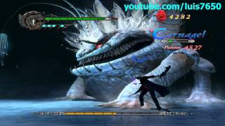 Devil May Cry 4 - PC Gameplay [Jefe 2 - Bael]