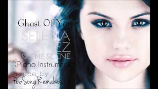Selena gomez - ghost of you (piano instrumental)