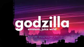 Eminem, Juice WRLD - Godzilla (Clean - Lyrics)