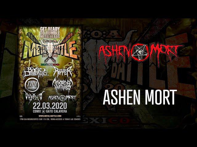 Ashen Mort en W:O:A Metal Battle México 2020