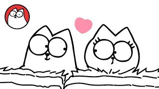Head Over Heels (A Valentines Special)  Simon's Cat | SHORTS #74