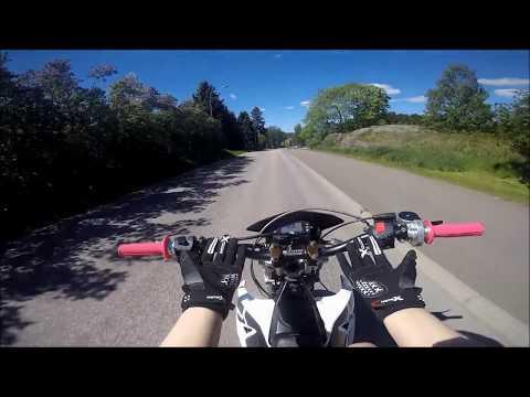 Fiddymotor i Yamaha DT50 Projekt, soundcheck & Sveriges första motovlogg av Tjej?