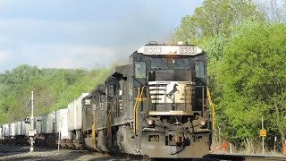 Hotshot NS 21J With 8303 (Dash 8-40C) Leading! - Derry PA