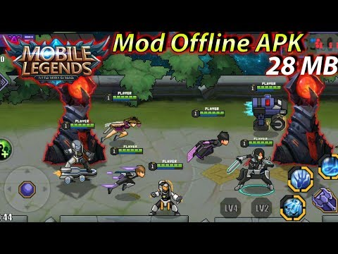 Download Mobile Legends Mod Offline Cuman 28 MB