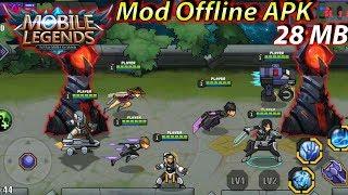 Gambar cover Download Mobile Legends Mod Offline Cuman 28 MB