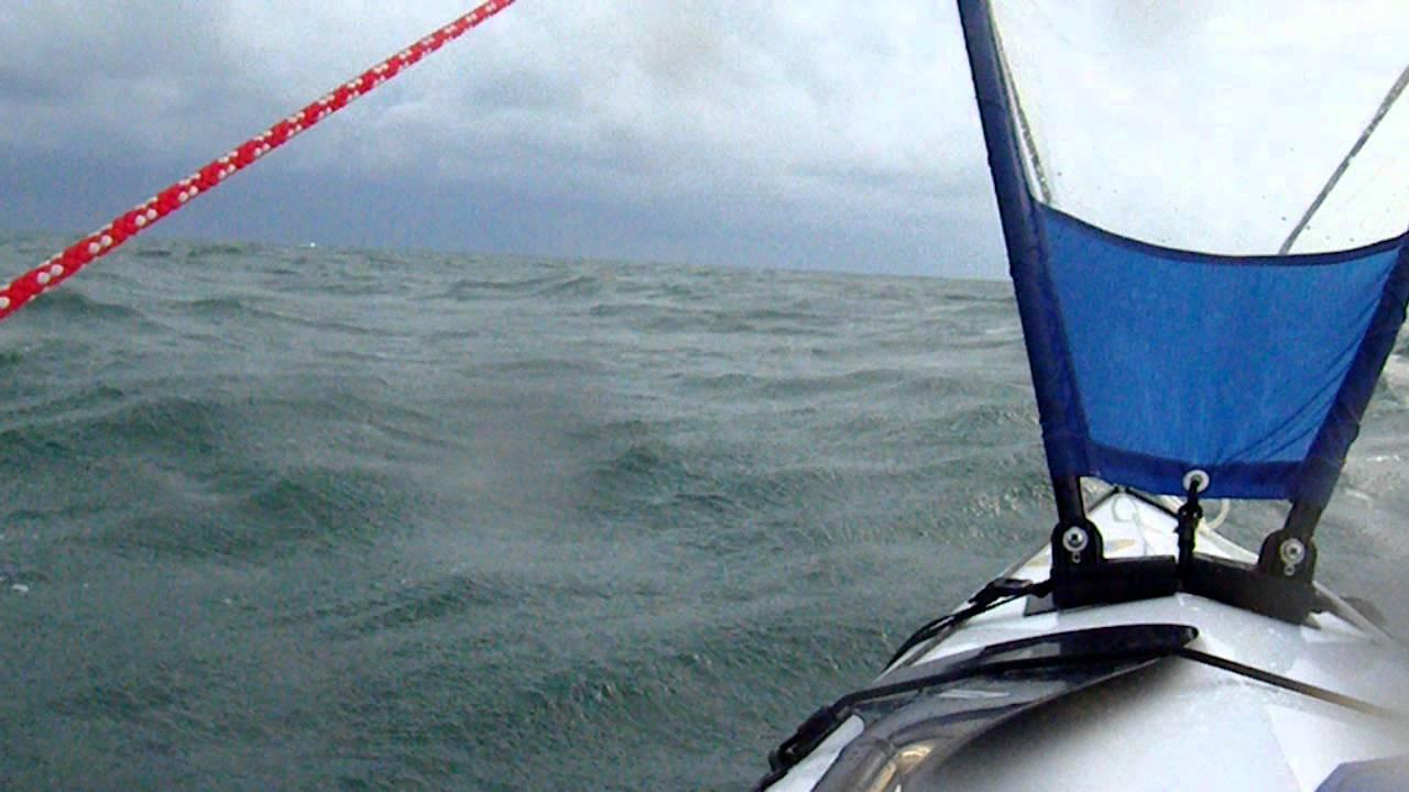 Kruger Seawind & Pacific Action 1m sail 25kts