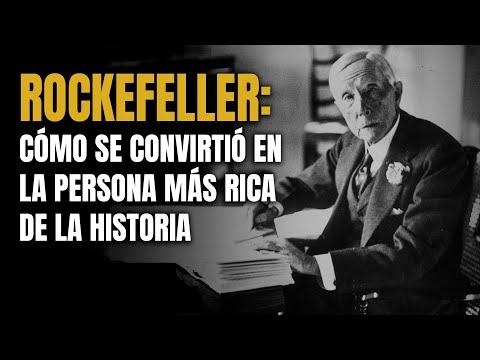 Cómo se convirtió John D. Rockefeller en la persona Más Rica de la Historia 💰