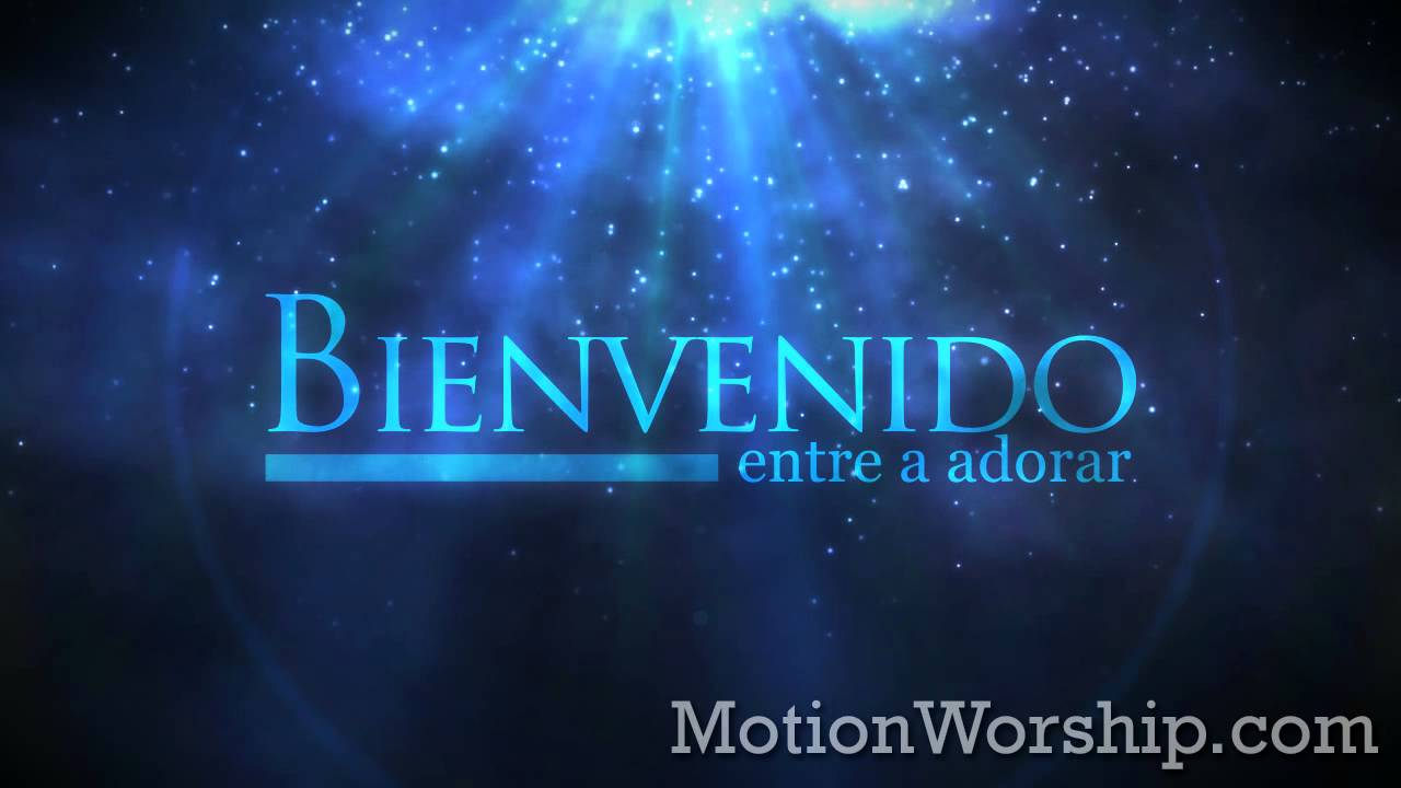 polvo azul bienvenido hd looping background by motion church logos free download church logos free psd
