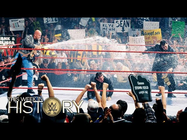 Stone Cold gives The Corporation a beer bath: This Week in WWE History, March 24, 2016