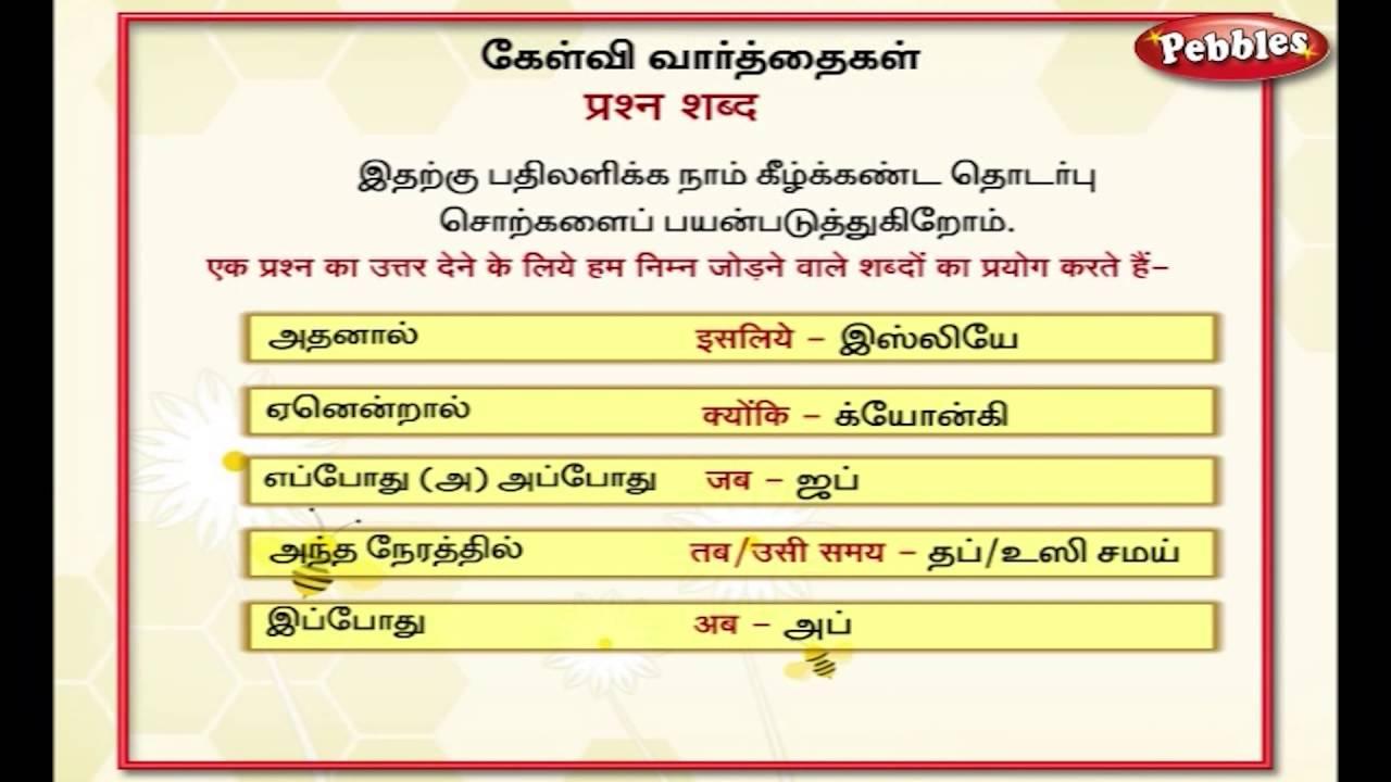 Spoken Tamil through English | Speak Tamil Through English ...