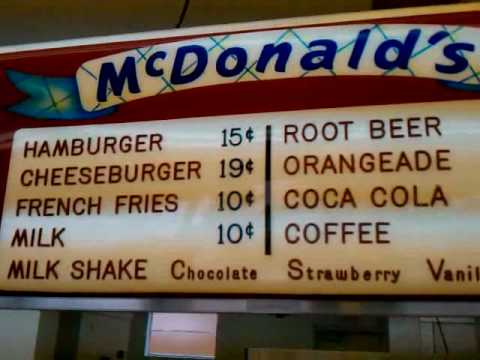 McDonald's Historian Michael Gives Us a Behind the Scenes Look at a 50's era McDonald's