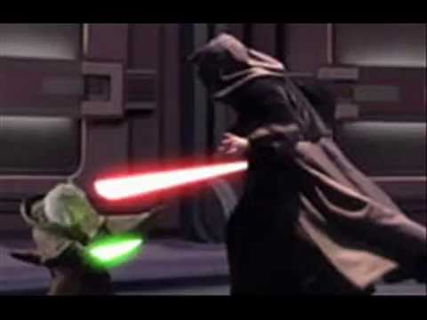 Star wars revenge of the sith soundtrack anakin vs obi wan yoda confronts sidious