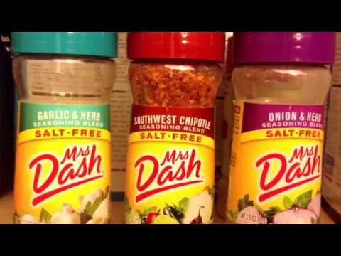 I Use Alot Of Mrs Dash Seasonings.