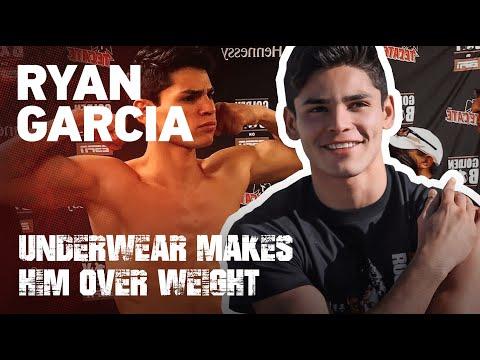 15x Time National Ryan Garcia Underwear Makes Him Over Weight