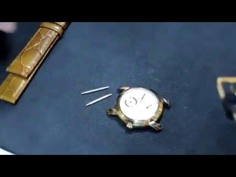 วิธีเปลี่ยนสายนาฬิกาหนัง Part1 (How to Cut the strap watches Part1 )