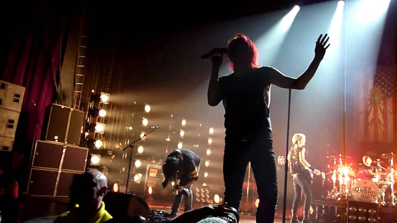 Hd Video Camera Wallpaper My Chemical Romance Quot Na Na Na Quot Live At Manchester O2