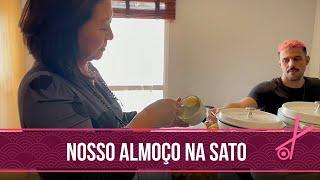ALMOÇO rápido na SATO RAHAL | Kika Sato
