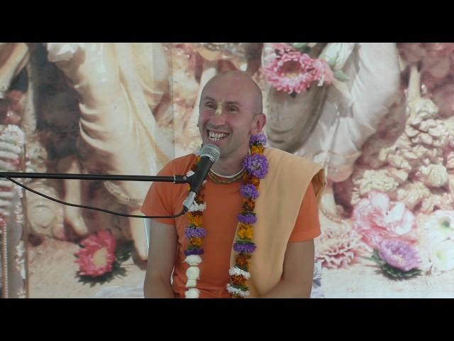 Лекция Е.М. Адхокшаджи прабху на фестивале Санкиртаны