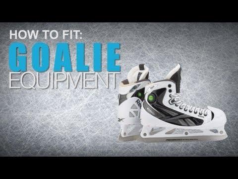 How To Fit Goalie Equipment: Goal Skates