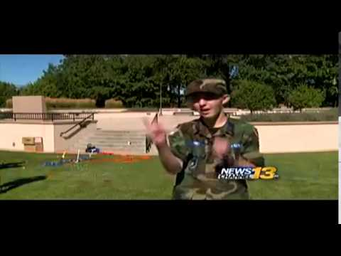 Kids learn at Peterson Air Force Base