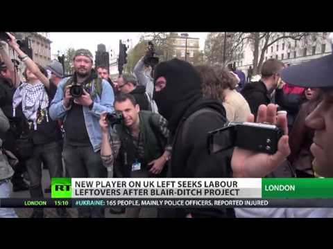 """RT News reports on Left Unity's founding conference"""