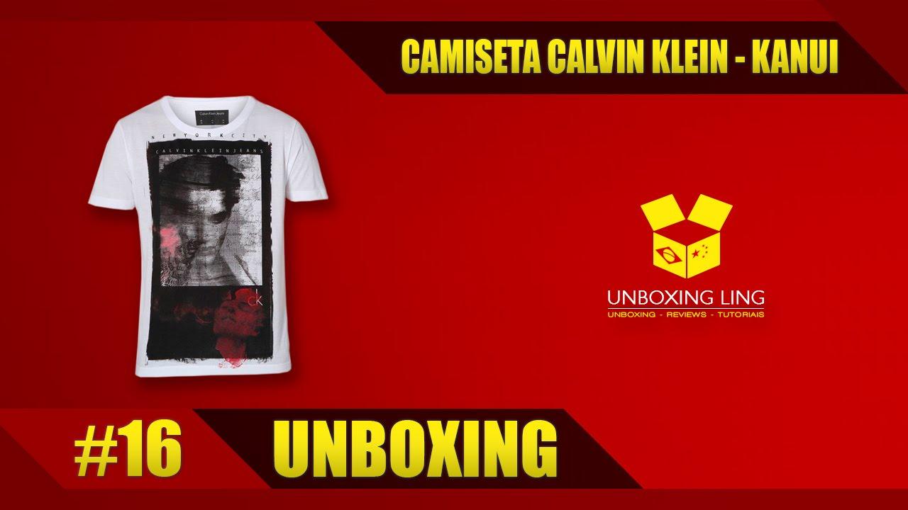 UNBOXING  16 - CAMISETA CALVIN KLEIN - KANUI - YouTube d9ed3e302a2