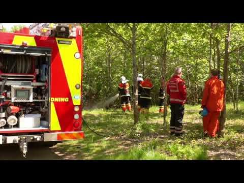 02.06.21 Mindre naturbrand på Egernsundsvej i Korsør