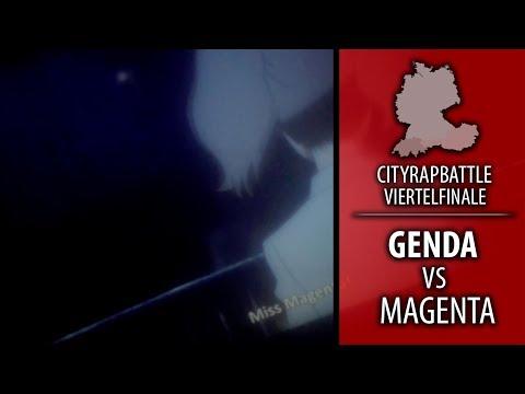 Genda (W) ft. Neon & Einfach Linus vs. MagentA (FK) ll CityRapBattle - Ö' Viertelfinale HR