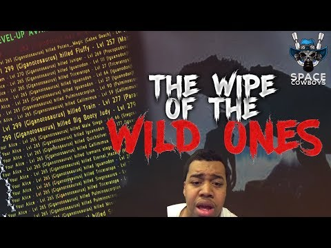 ARK PS4 PVP - The Wipe of WILD ONES and 270 Under World - SPACE COWBOYS