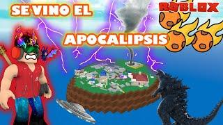 USO LA MAQUINA DEL CLIMA EN DESASTRES NATURALES Y SE VIENE EL APOCALIPSIS EN Roblox   Peluso Gamer