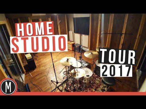 Home Studio Tour 2017 - mixdown.online