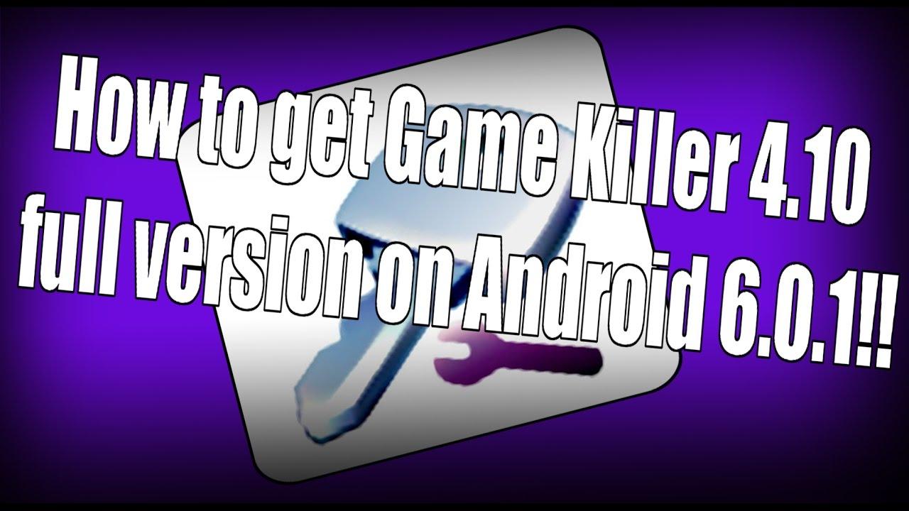 descargar gamekiller para android 6.0