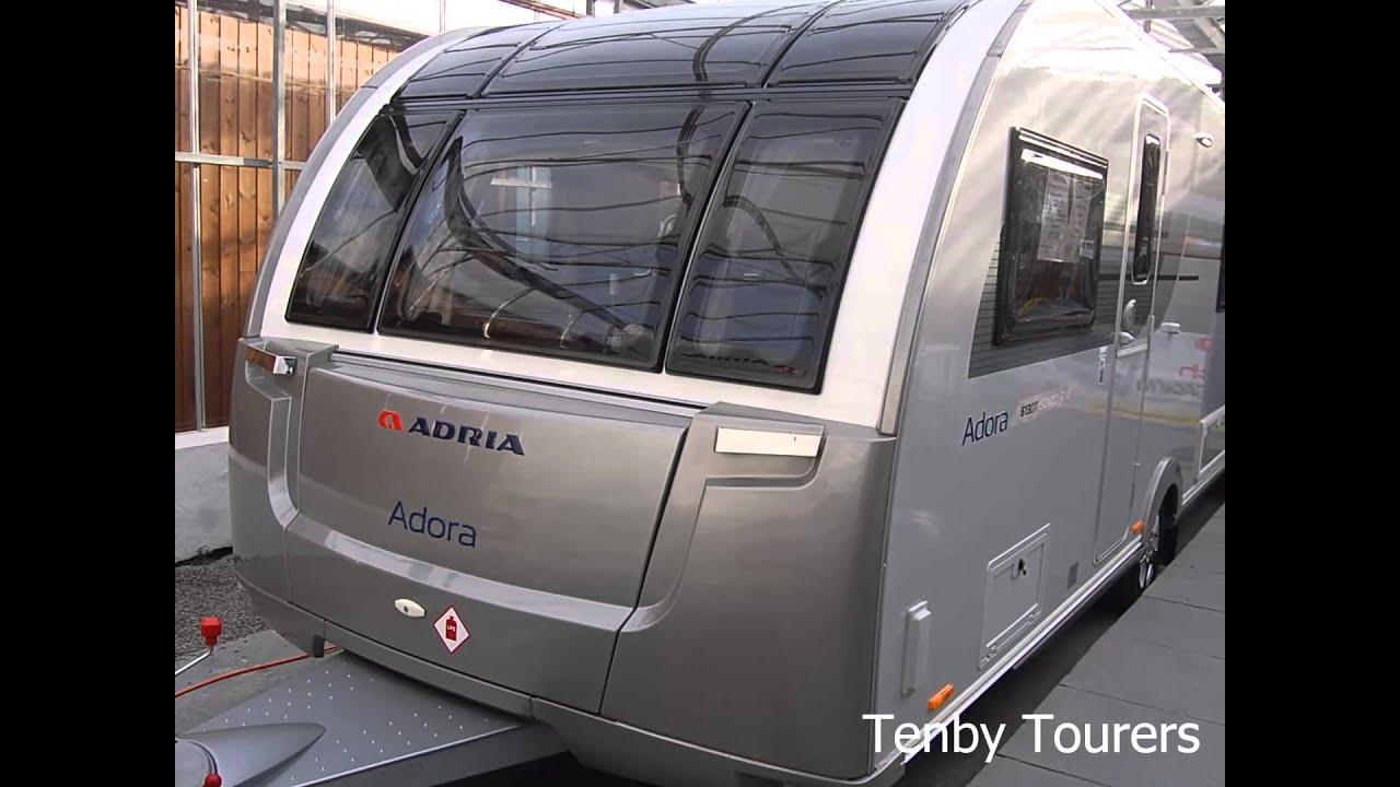 Cool 2016 Adria Adora Isonzo 613 DT Silver  YouTube