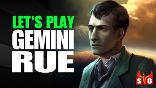 Let's Play Gemini Rue - Complete Playthrough with Developer Commentary